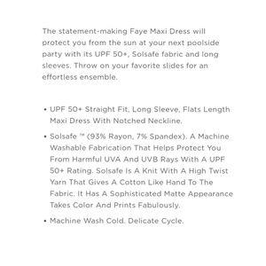 Lilly Pulitzer Dresses - Lily Pulitzer UPF 50+ Faye Maxi Dress